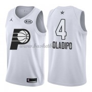 Indiana Pacers Victor Oladipo 4# Vit 2018 All Star Game NBA Basketlinne..
